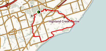 Highland Creek Trail Map