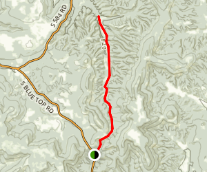 Bolin Hollow Trail Map