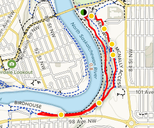Forest Heights Park Trail Map