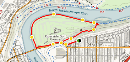 River Valley Riverside Trail Walk Map
