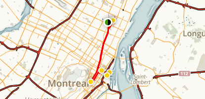 Montreal Highlights Walking Tour Map
