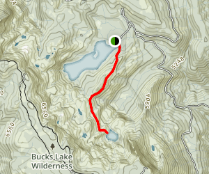 Gold Lake Trail Map