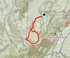Eureka Peak Loop Trail Map