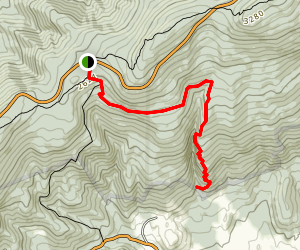 Big Devil Stairs Trail Map
