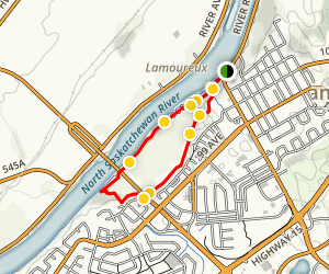 Fort Centre Park Loop Trail Map