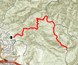 Rocky Peak via Chumash Trail Map
