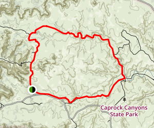 Lower Canyon Trail Map
