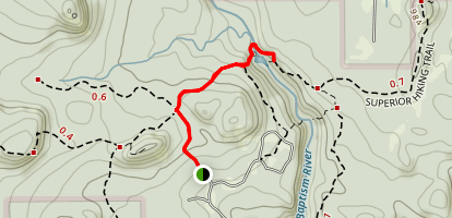 Tettegouche State Park Trail Map