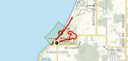 Joseph Whidbey State Park Trails Map