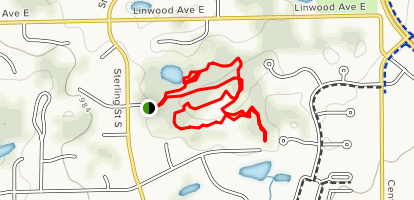 Applewood Park Loop Map