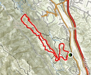 Pleasanton Ridge Trail Map