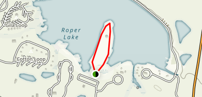 Roper Lake State Park Loop Map