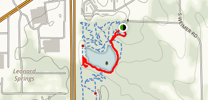 Wapehani Mountain Bike Park Map