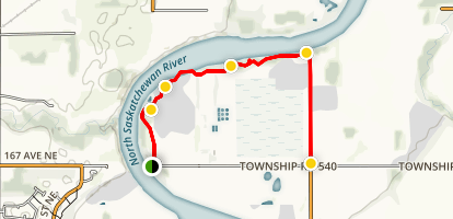 Strathcona Riverside Nature Trail Map