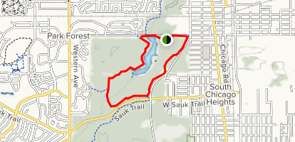 Thorn Creek Trail (Black) Map
