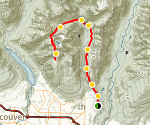 Hanes Valley Trail Map