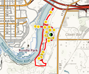 Strathcona Science Park Trail Map
