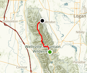 Wellsville Ridge Trail Map