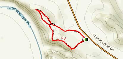 Wind Canyon Trail Map