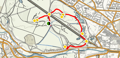 Phoenix Park Trail Map