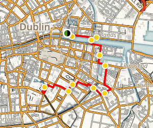 Dublin Neighborhood Tour Map