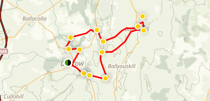 South Laois Bike Tour Map