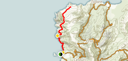Centuri Marina and Cape Trail Map