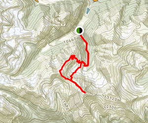 Woods and Parnassus Mountain Map