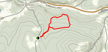 Helen's Way to Charles Davisson Trail Map