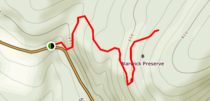 Partridge Brook Trail Map