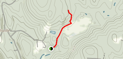 Ellis Reservoir Trail Map