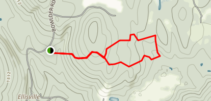 Wilder Hill Trail Map