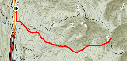 Flume Slide Trail Map