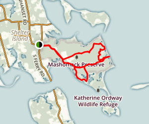 Mashomack Preserve Map