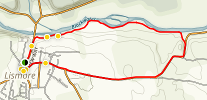 Round Hill Loop Map