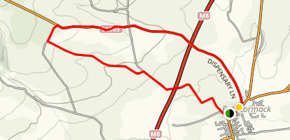 Rathcormac Long Loop Map
