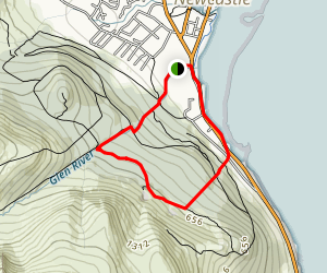 Granite Hike Map