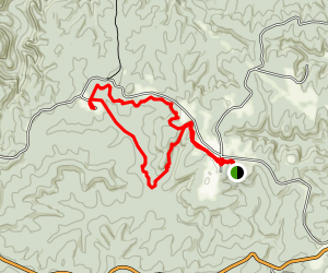 Oscar Blevins Loop Trail Map