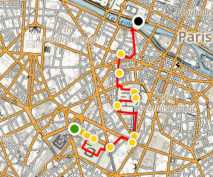 The Left Bank and The Latin Quarter Map