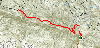 Oyster Point Trail Map
