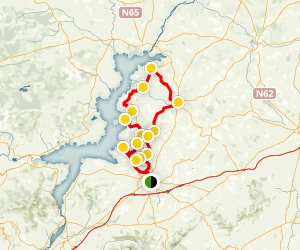 Nenagh to Terryglass Cycling Tour Map
