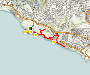 Rancho Palos Verdes Coastal Trail Map