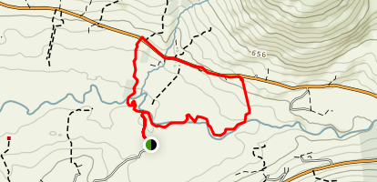 Mealagh Woods Loop Map