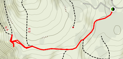 Negro Canyon Overlook Trail Map