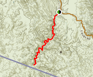 Sycamore Creek Trail Map