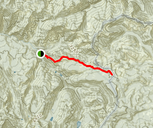 Naches Pass via Greenwater Trail Map