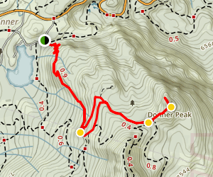 Donner Peak Trail Map