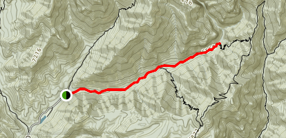 Rucker Canyon Trail Map