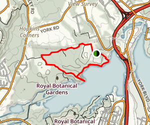 Bulls Point Loop Map