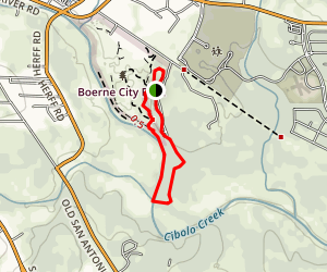 Prairie, Creekside, and Woodlands Trail Loop Map